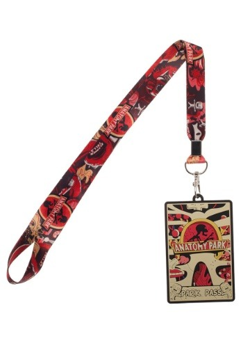 Rick and Morty Lanyard y ID Holder1