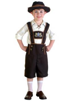 Disfraz de Lederhosen para niños pequeños
