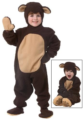 Disfraz de oso para niños pequeños