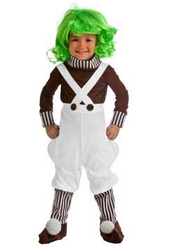 Disfraz de trabajador de fábrica de chocolate para niños peq