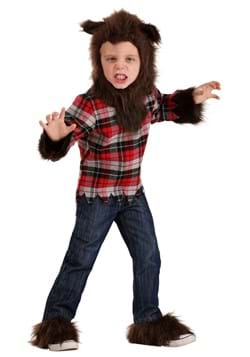 Disfraz de hombre lobo para niños pequeños-1