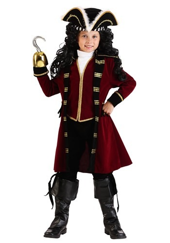 Disfraz infantil Deluxe de Capitán Garfio
