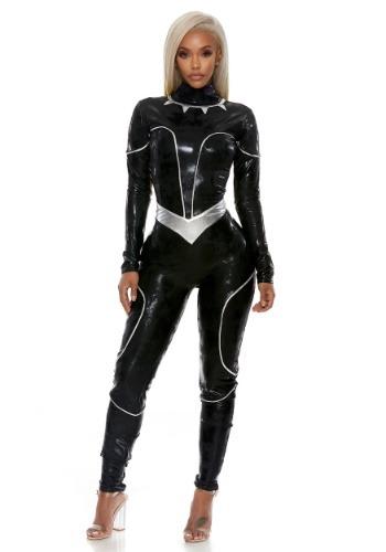 Disfraz de héroe de gato salvaje femenino