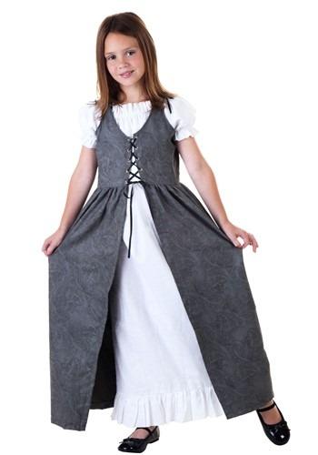 Disfraz de hada renacentista para niñas 1
