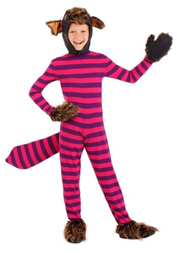 Disfraz de gato Cheshire para niños