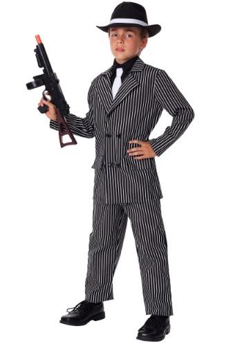 Disfraz de gángster de lujo para niños