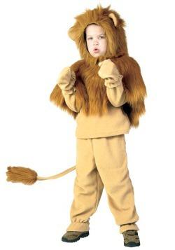 Disfraz de león de libro de cuentos infantil
