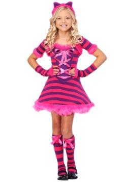 Disfraz de gato atrevido de Wonderland para niños