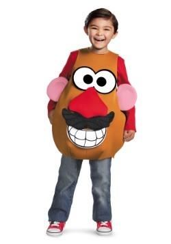 Disfraz de cabeza de patata para niña Mrs / Mr