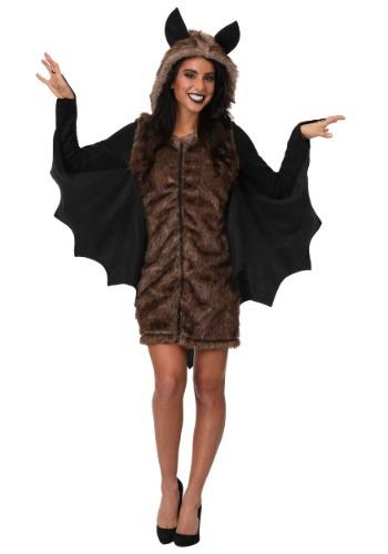 Disfraz de murciélago de lujo talla grande para mujer