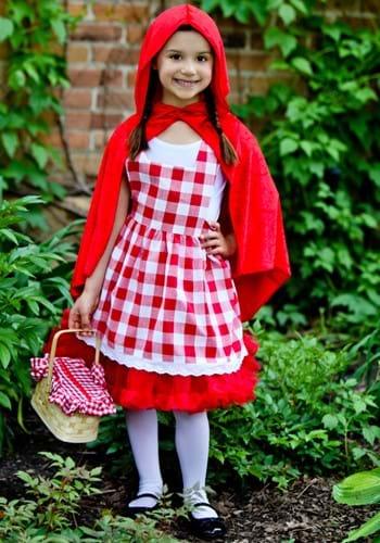 Disfraz de Caperucita Roja con tutú para niños
