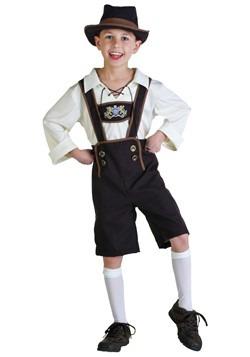 Disfraz de Lederhosen Boy