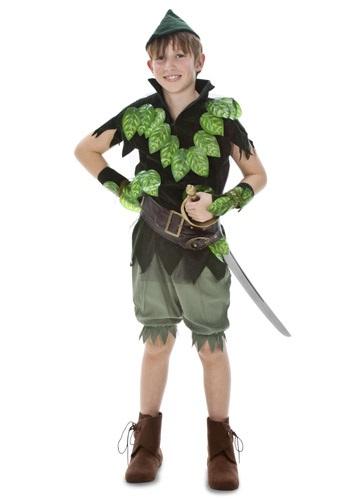 Disfraz infantil deluxe de Peter Pan