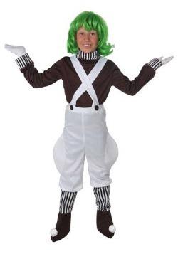 Disfraz de trabajador de fábrica de chocolate para niños