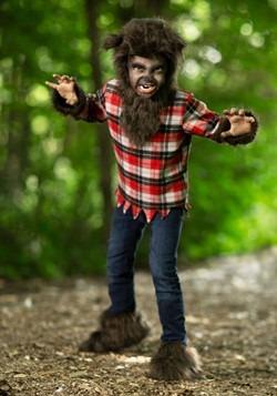 Disfraz de hombre lobo feroz para niños