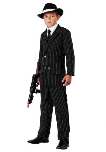 Traje de gángster de lujo para niños