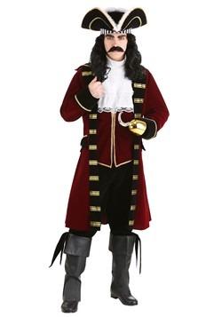 Disfraz de lujo del capitán Garfio para hombres