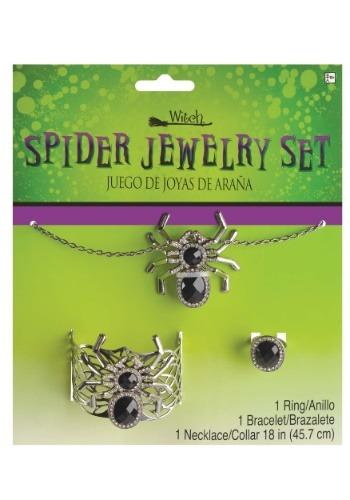 Conjunto de joyas de araña