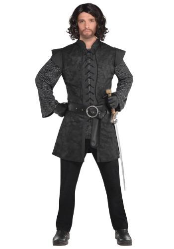 Traje negro de la túnica guerrera