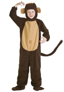 Disfraz infantil de mono