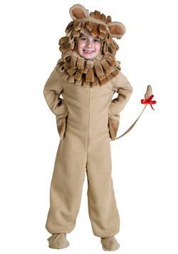 Disfraz infantil de león