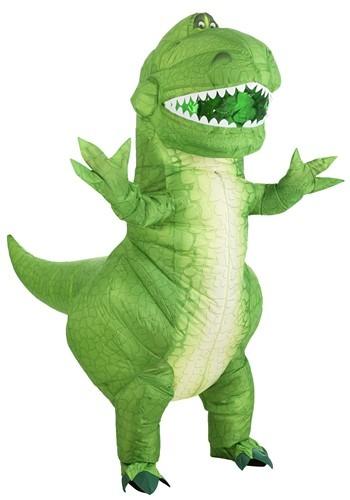 Disfraz inflable de Rex de Toy Story para adulto