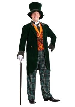 Disfraz de sombrerero loco de lujo de talla grande