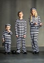 Child Striped Prisoner Costume Alt 2