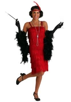 Disfraz Miss Millie estilo Flapper rojo