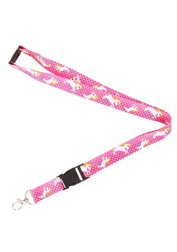 Cordón rosa del unicornio