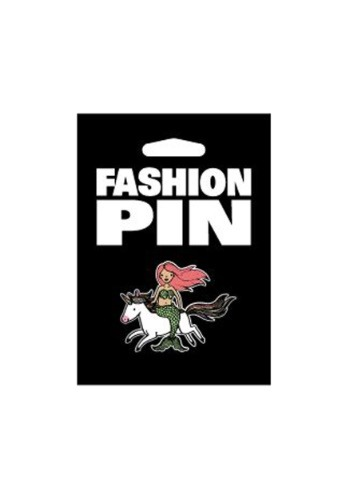 Sirena en un Pin de moda unicornio