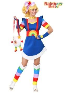 Disfraz de Rainbow Brite para mujer Plus