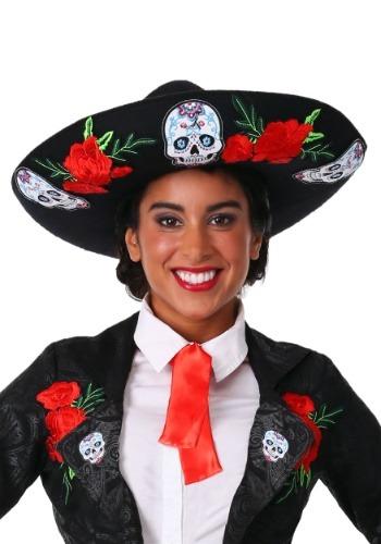 Día de los muertos Sombrero adulto