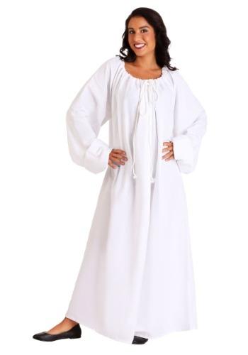 Camisón blanco del Renacimiento 1