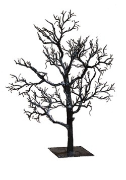 "32 ""Black Twig Creepy Tree"