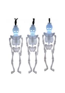 Juego de 10 luces LED de esqueleto para fiesta