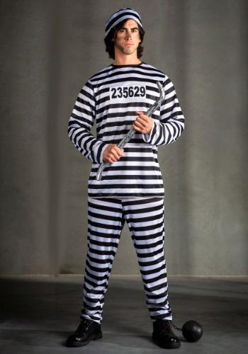Disfraz de prisionero para hombre
