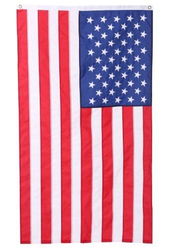 Bandera de nailon bordada en EE.UU. - 3' x 5'