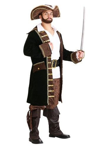 Disfraz de pirata realista para hombre
