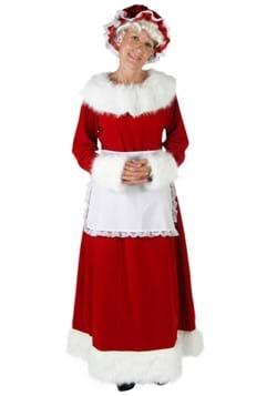 Disfraz de lujo de la señora Claus