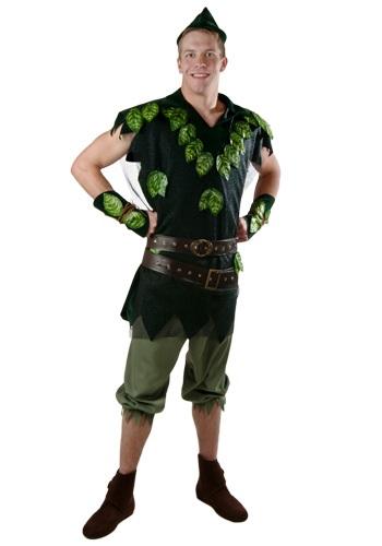 Disfraz de Peter Pan deluxe para adulto