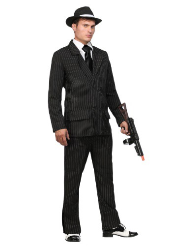 Traje Deluxe Gangster Strip Pin