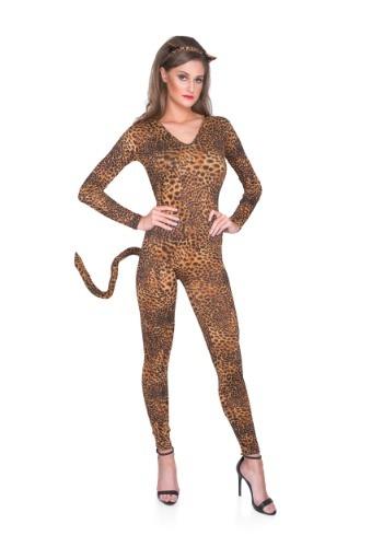 Wild Leopard Bodysuit para mujer
