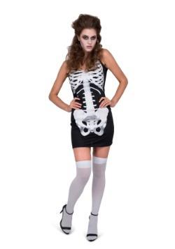 Vestido esqueleto de mujer