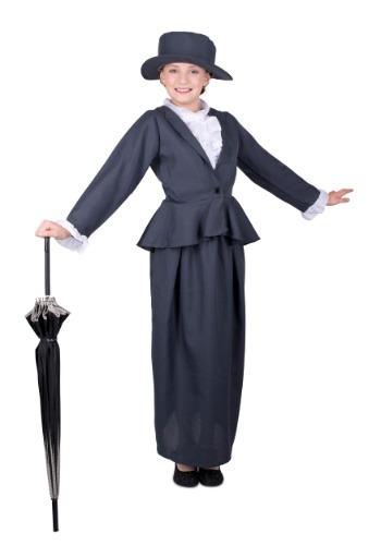 Disfraz de niñera mágica de niña