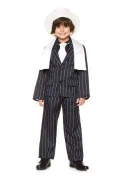 Disfraz de jefe de gángster para niño