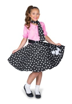 Disfraz para niña Sock Hop Cutie
