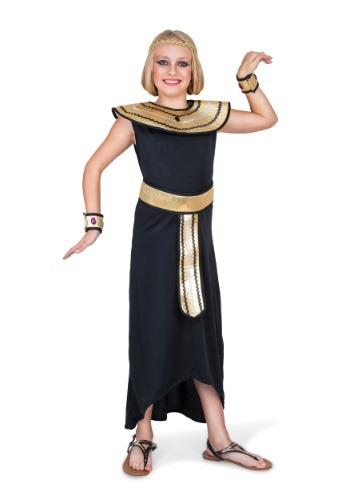 Disfraz egipcio para niñas