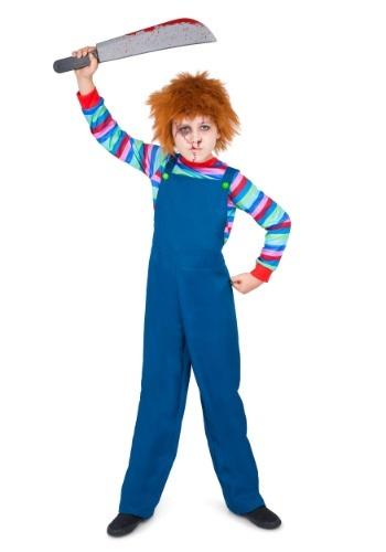 Disfraz de muñeco malvado para niño