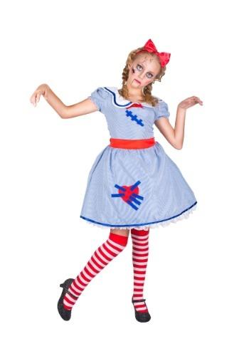 Disfraz para niñas de muñeca rota
